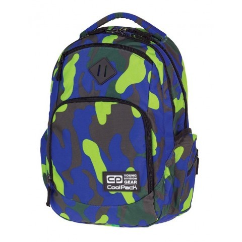 Plecak młodzieżowy COOLPACK CP - BREAK MORO CAMOUFLAGE 874 LIME