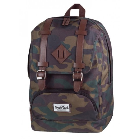 Plecak miejski CoolPack CP vintage CITY CAMOUFLAGE 1023 moro