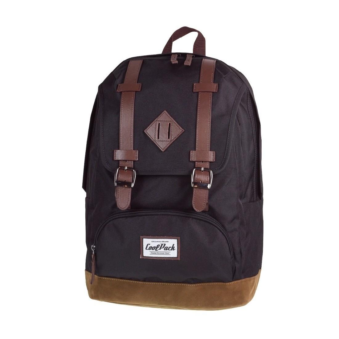 f4cd49ad2a8de Lekki plecak miejski CoolPack w stylu Vintage dla młodzieży szkolnej. Plecak  posiada oryginalny design