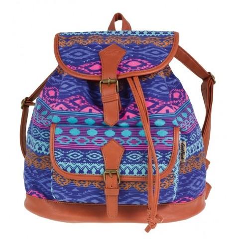 Plecak vintage CoolPack CP aztec niebieski FIESTA BLUE TRIBAL 1028