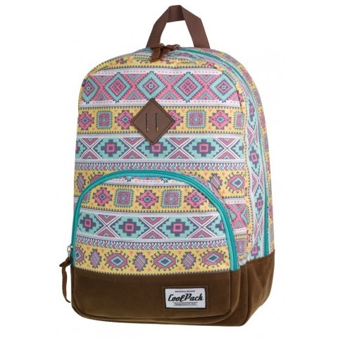 Plecak miejski CoolPack CP retro kolorowy Aztec CLASSIC AZTEC 1011
