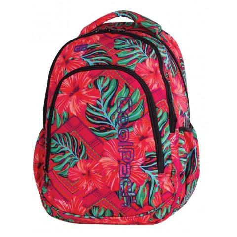 Plecak dla pierwszoklasisty CoolPack CP PRIME CARIBBEAN BEACH 1062 egzotyczne kwiaty