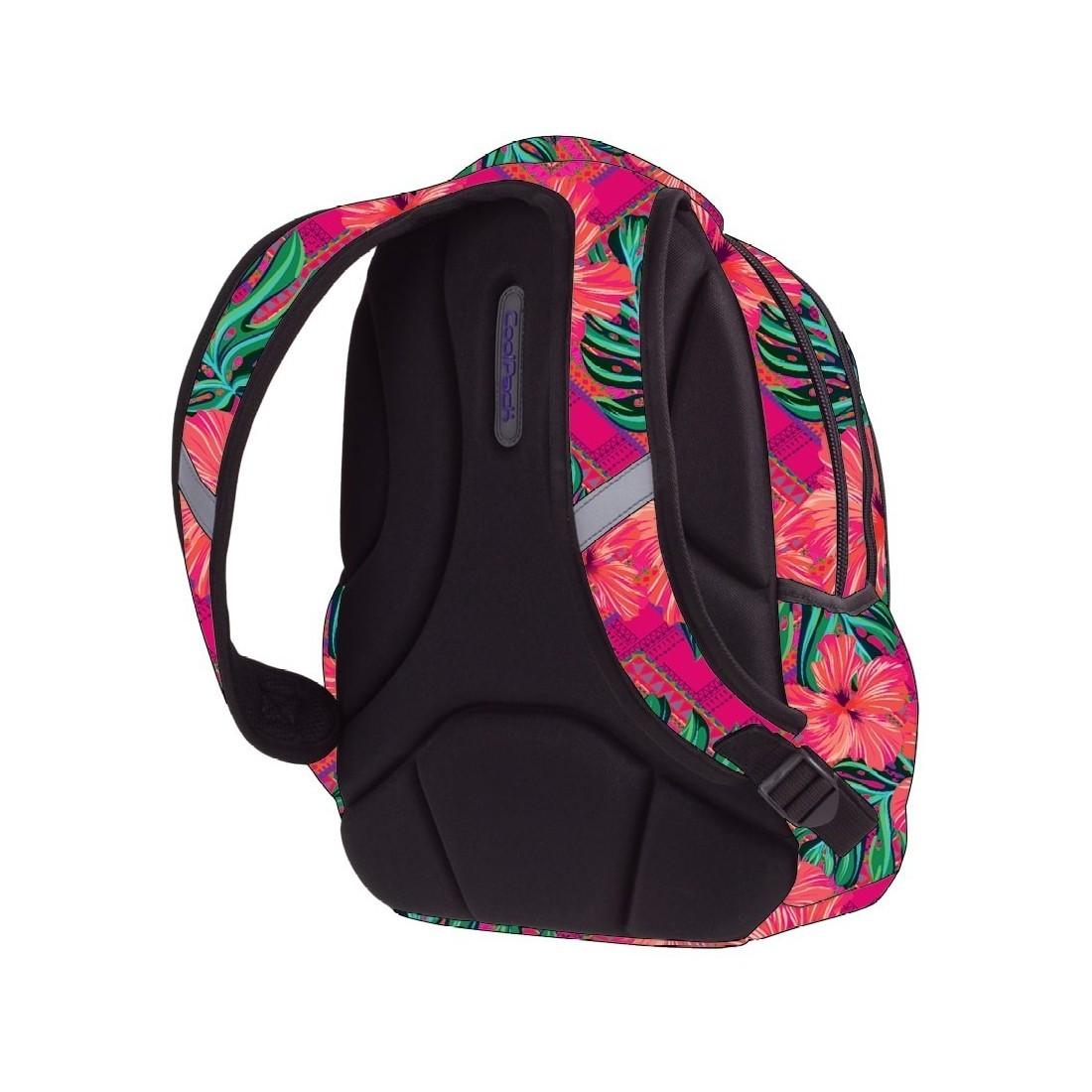 017704f3f9b9a ... Plecak dla pierwszoklasisty CoolPack CP PRIME CARIBBEAN BEACH 1062  egzotyczne kwiaty