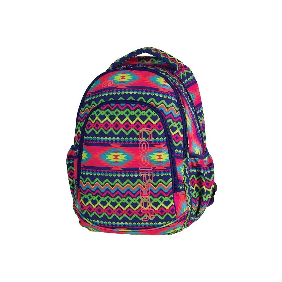 b9e75931b1375 CoolPack CP PRIME BOHO ELECTRA Aztec Boho plecak dla pierwszoklasisty azteckie  wzory dla dziewczynki - 1061