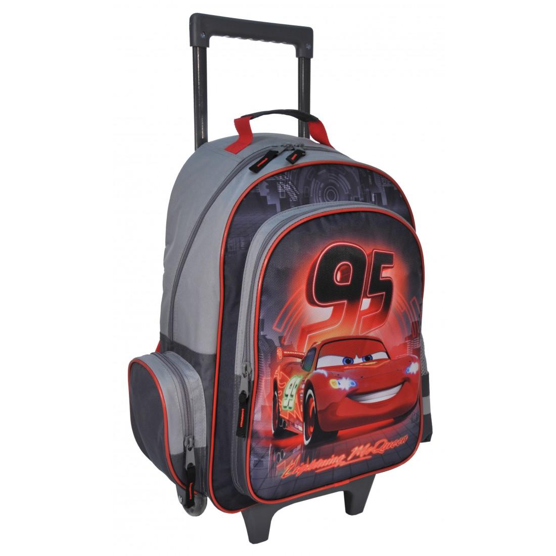 Plecak na kółkach Auta Cars - plecak-tornister.pl