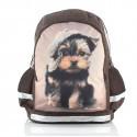 Plecak szkolny z psem yorkiem