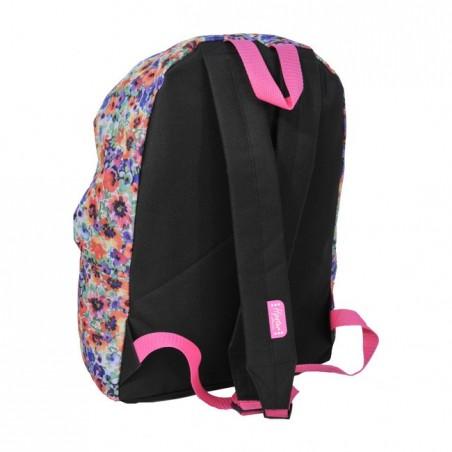 Plecak młodzieżowy w kolorowe kwiaty