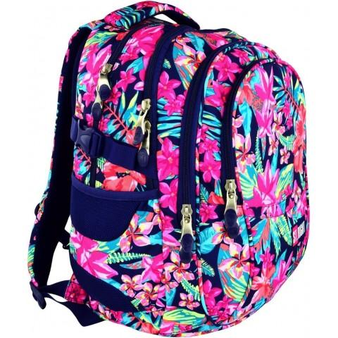 Plecak młodzieżowy 01 ST.RIGHT FLOWER POWER w kwiaty