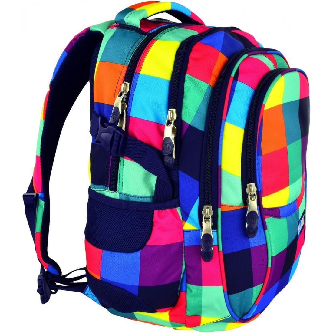 984ef1ee2b9d2 Plecak szkolny na laptop ST.RIGHT MAXI SQUARES dla dziewczynki ...