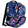 Plecak młodzieżowy 07 ST.RIGHT PIXELMANIA BLUE niebieskie piksele