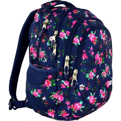 Plecak młodzieżowy 06 ST.RIGHT NIGHT ROSE GARDEN w róże