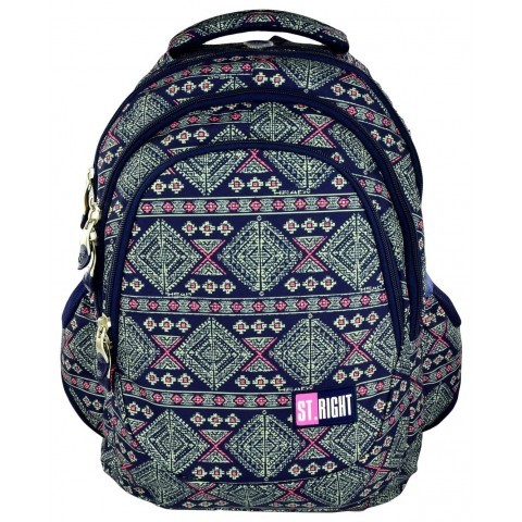 Plecak młodzieżowy 06 ST.RIGHT AZTEC ART
