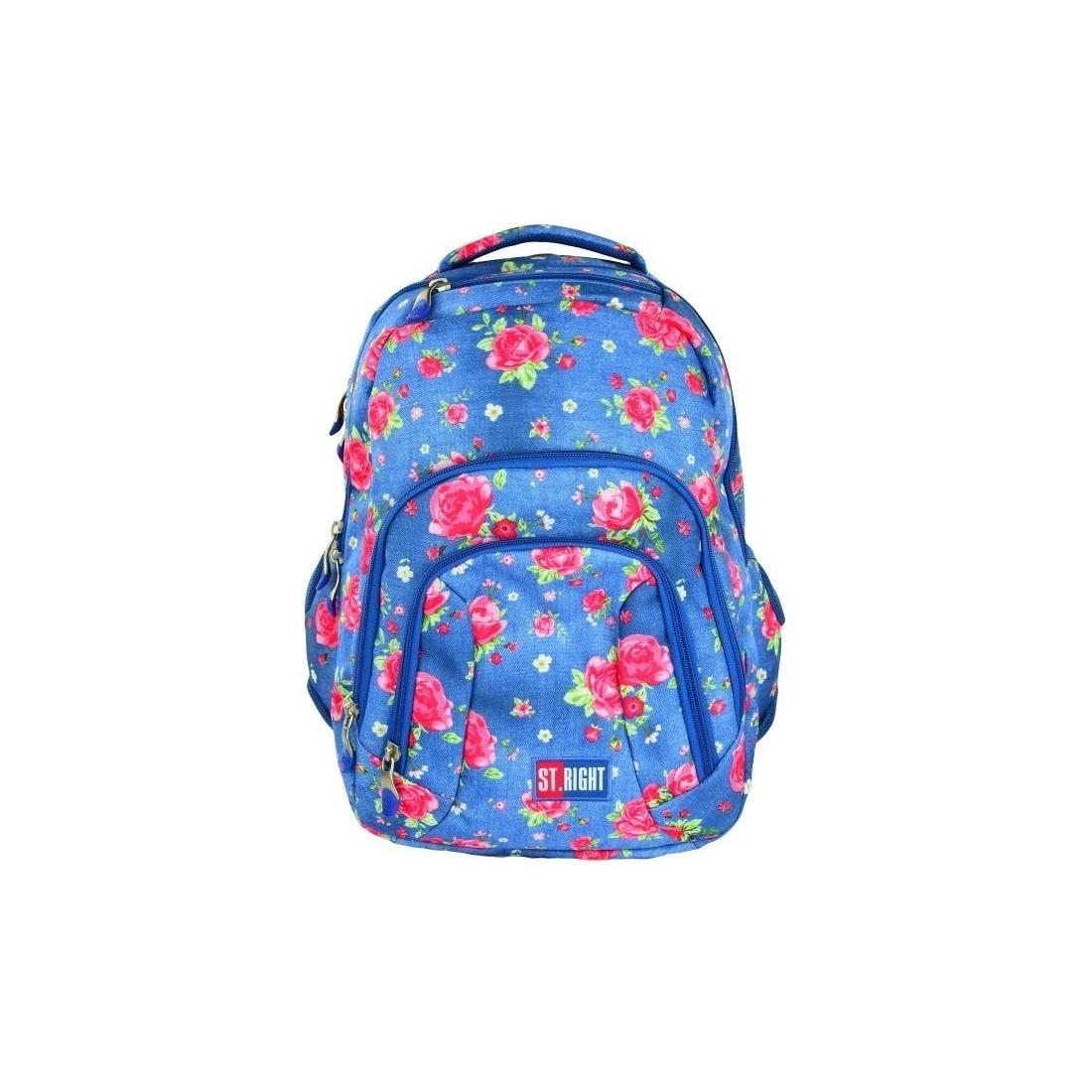 bbbdd82ab3127 Plecak szkolny młodzieżowy ST.RIGHT GARDEN dla dziewczynki - plecak -tornister.pl