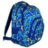 Plecak młodzieżowy 25 ST.RIGHT KALEIDOSCOPE w trójkąty