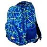 Plecak młodzieżowy 23 ST.RIGHT KALEIDOSCOPE w trójkąty