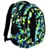 Plecak młodzieżowy 04 ST.RIGHT PIXELMANIA GREEN zielone piksele
