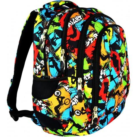 Plecak młodzieżowy 04 ST.RIGHT SKATEPARK kolorowy skate
