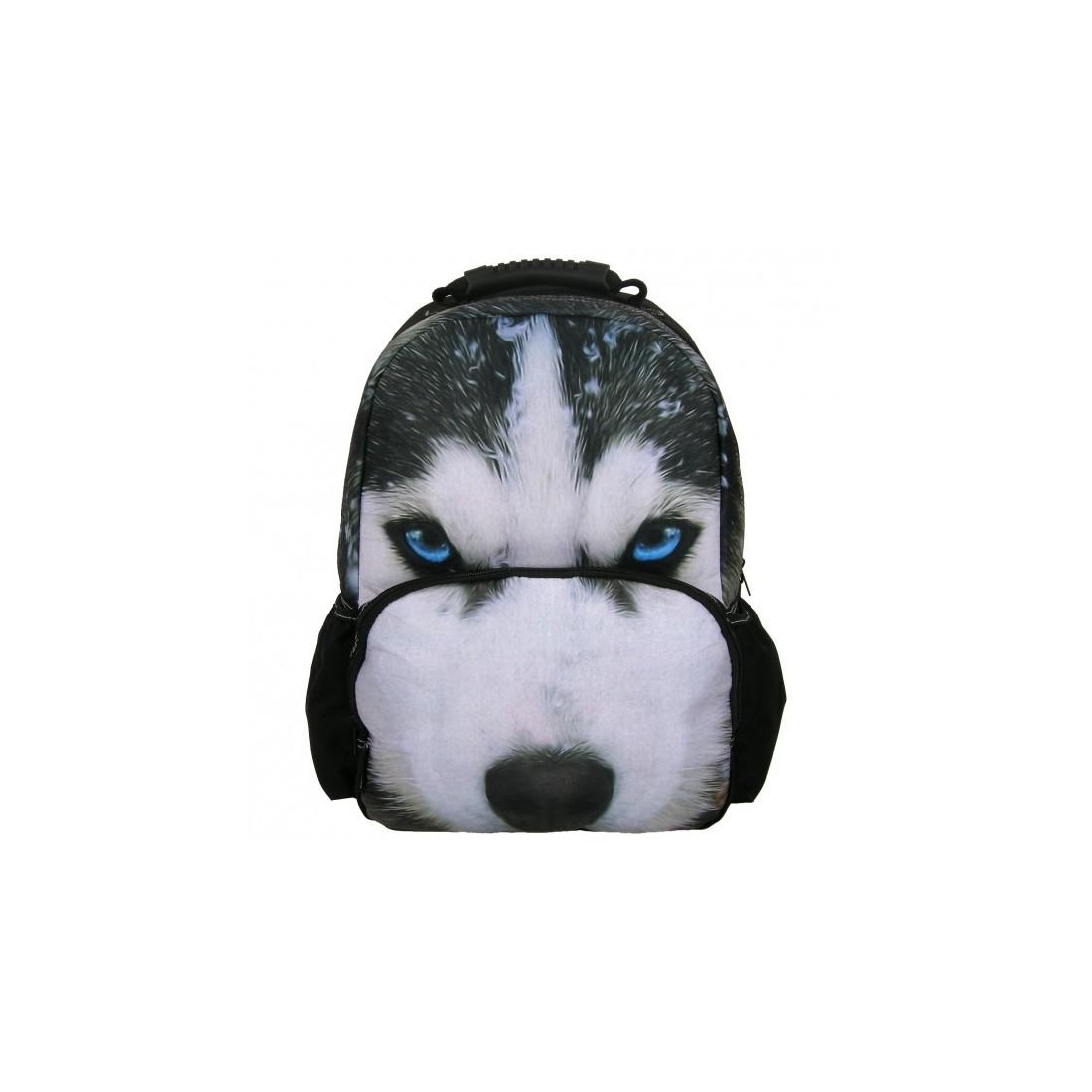 Plecak Szkolny PHOTO ANIMAL FULL PRINT PIES HUSKY