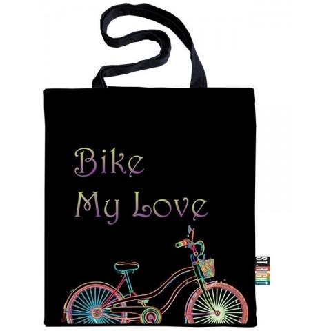 Torba / szoperka ST.RIGHT - BIKE MY LOVE rower
