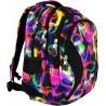 Plecak młodzieżowy 02 ST.RIGHT ILLUSION kolorowe fale