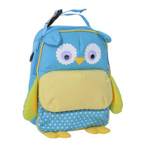 Plecak Przedszkolny Sowa Niebieski