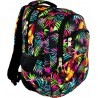 Plecak młodzieżowy 03 ST.RIGHT TROPICAL ISLAND tropikalne liście