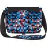 Torba na ramię / listonoszka 01 ST.RIGHT Pixelmania Blue niebieskie pixele