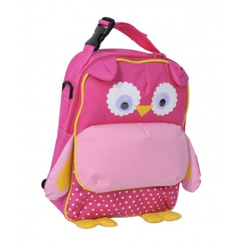 Plecak Przedszkolny Sowa Różowa Torebka