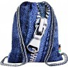 Worek / plecak na sznurkach ST.RIGHT ZIPPER suwak