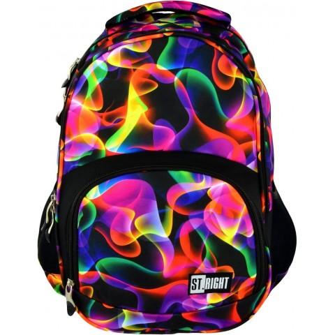 Plecak młodzieżowy 23 ST.RIGHT ILLUSION kolorowe fale