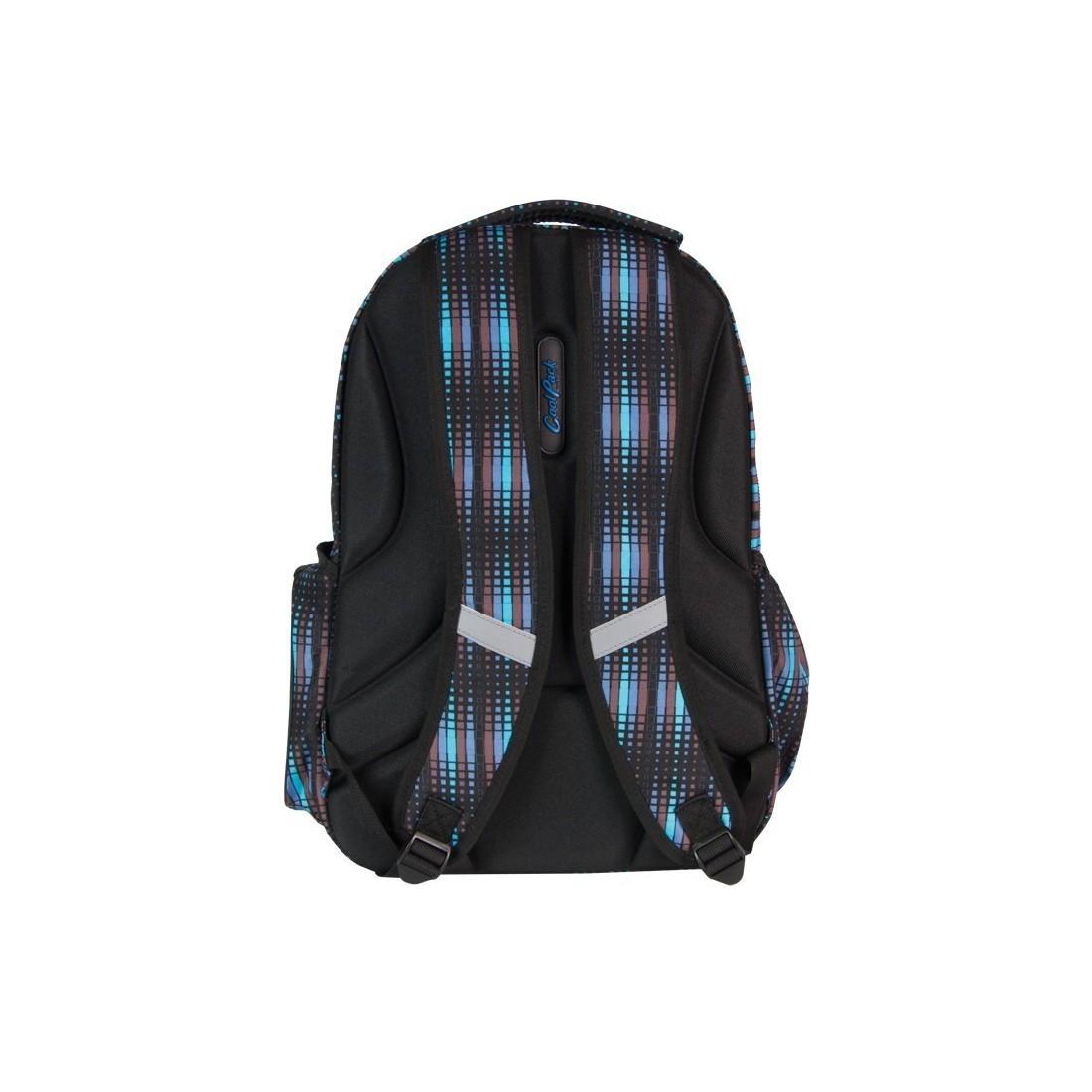 PLECAK COOLPACK MŁODZIEŻOWY Niebiesko- Czarny LEADER BLUE FLASH CP 231 - plecak-tornister.pl