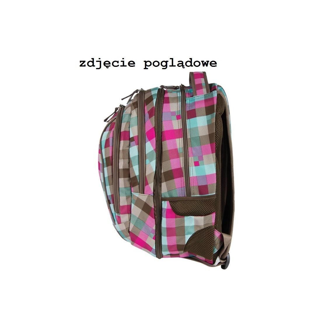 PLECAK MŁODZIEŻOWY COOLPACK 2w1 COMBO RUBIN 102 - kratka - plecak-tornister.pl