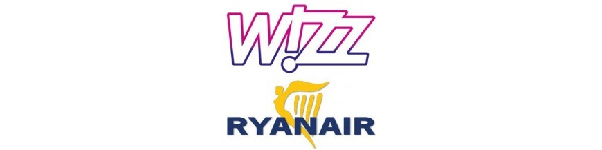 Bagaż podręczny Wizzair, Ryanair