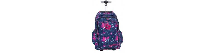 Plecaki na kółkach dla dziewczynek